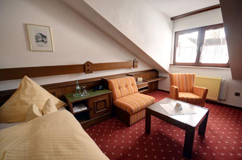 Hotel • Garni Rats-Schänke - Zimmer