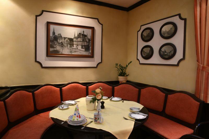 Hotel • Garni Rats-Schänke - Frühstücksraum